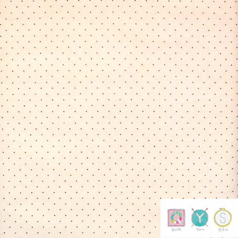 Tiny Dot on Cream - Hop, Skip and a Jump by American Jane for Moda Fabrics - Patchwork & Quilting