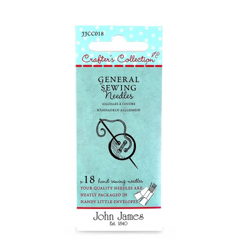 General Hand sewing needles by John James