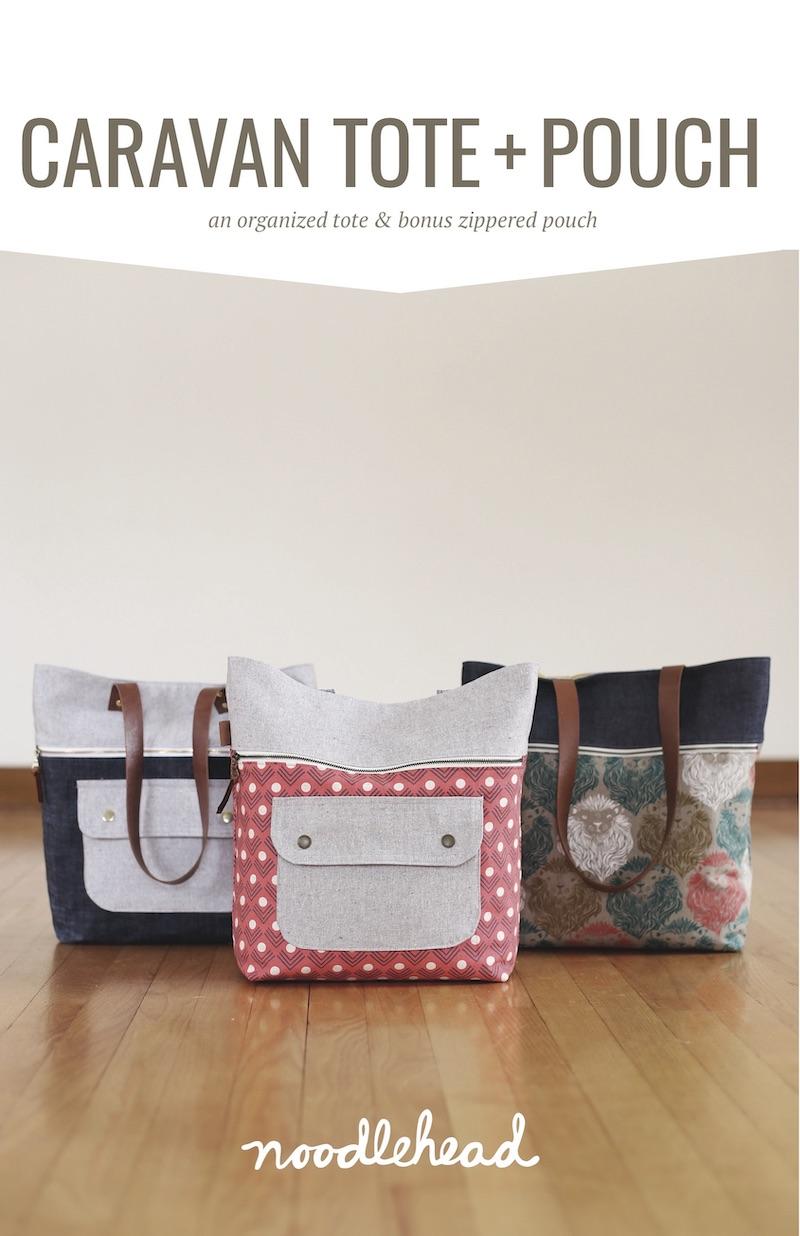 Noodlehead - Caravan Tote Bag Sewing Pattern