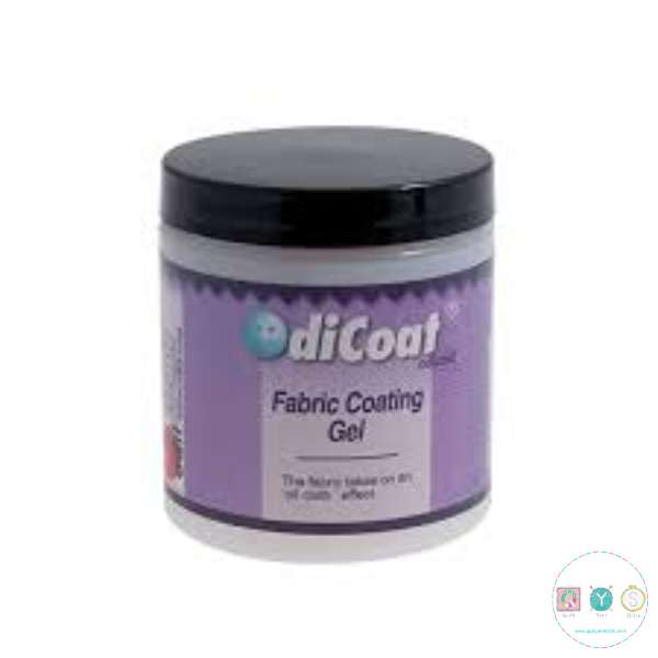 Odicoat Fabric Coating Gel - Fabric Takes On Oil Cloth Effect - Water Resistant Coating - 250ml