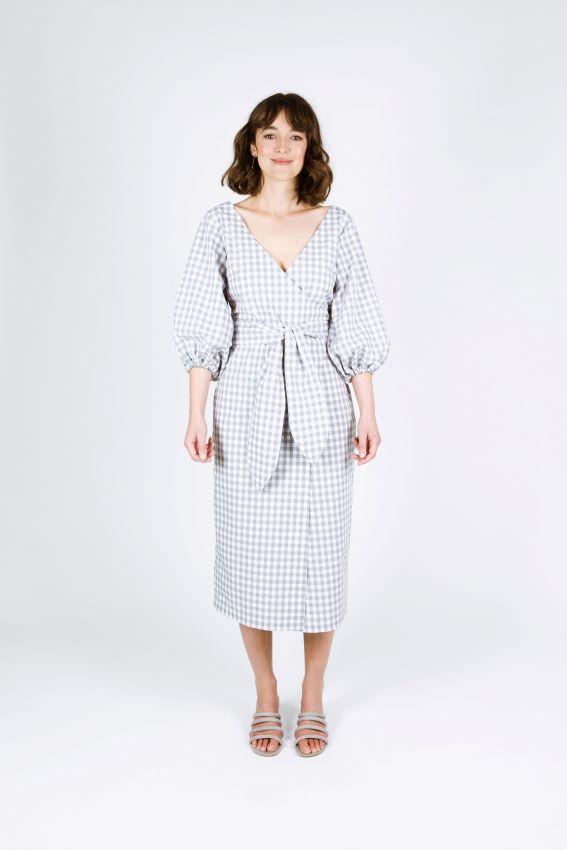 Papercut Patterns - Aura Dress And Skirt Sewing Pattern