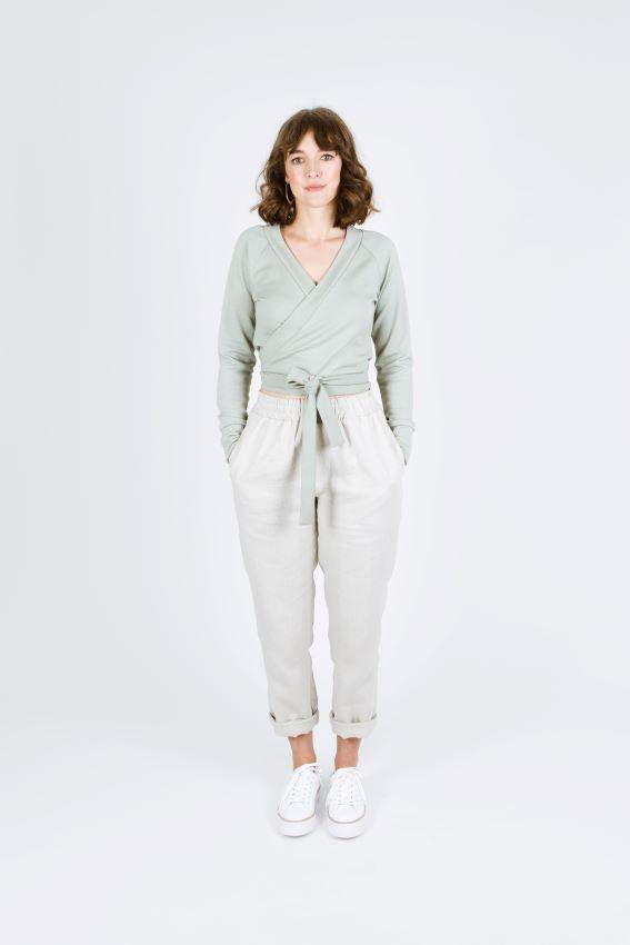 Papercut Patterns - Coppelia Wrap Cardigan Sewing Pattern