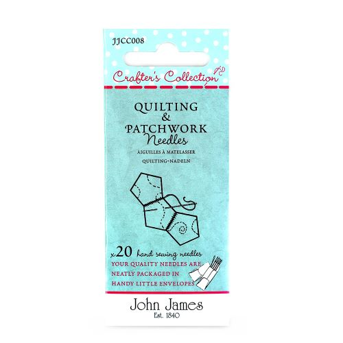 Assorted Quilting and Patchwork needles by John James