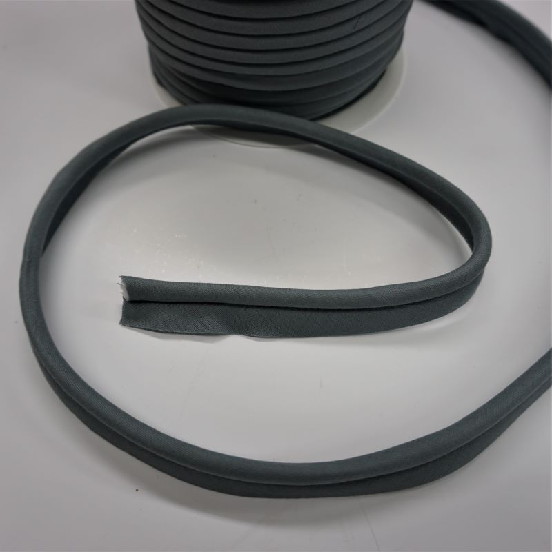 Piping in Grey Col 10 - 18mm Wide by Fany