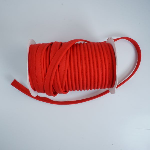 Piping in Red Col 46 - 10mm Wide by Fany