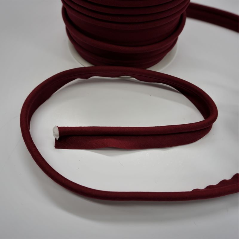 Piping in Wine Col 48 - 18mm Wide by Fany