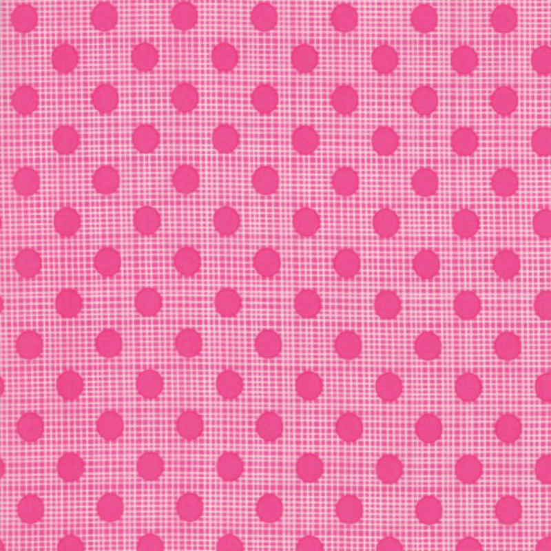Wing & Leaf - Pink Crosshatch by Gina Martin for Moda Fabrics - Patchwork & Quilting