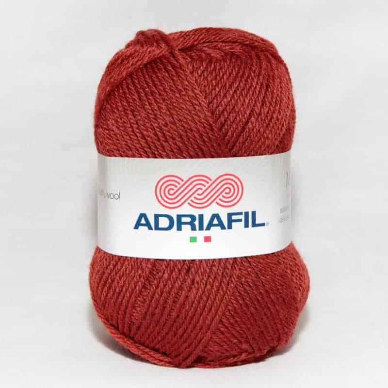 Yarn - Mirage DK by Adriafil - Dark Rust Colour 23