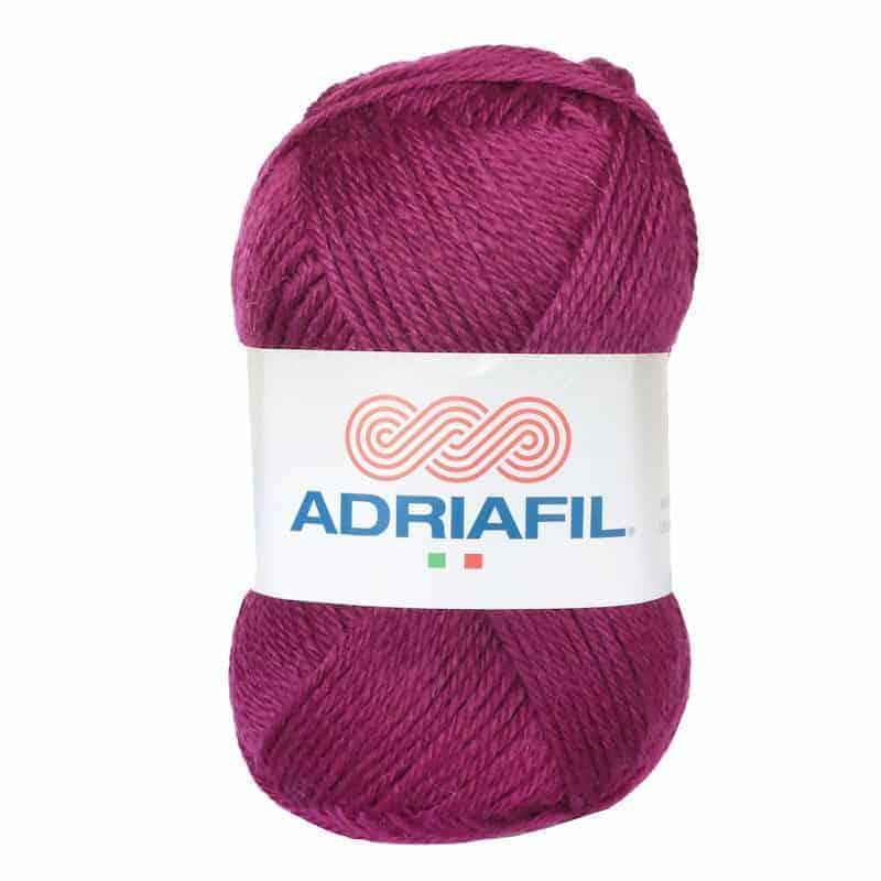 Yarn - Mirage DK by Adriafil - Black Cherry Colour 98