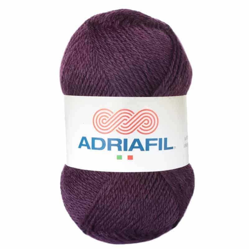 Yarn - Mirage DK by Adriafil - Purple Must  Colour 99