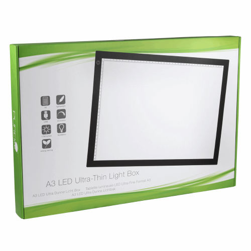 Gift Idea - A3 Light Box by PURElite - Perfect for Tracing your Applique or Embroidery patterns.