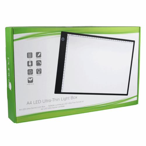 Gift Idea - A4 Light Box by PURElite - Perfect for Tracing you Applique or Embroidery Patterns