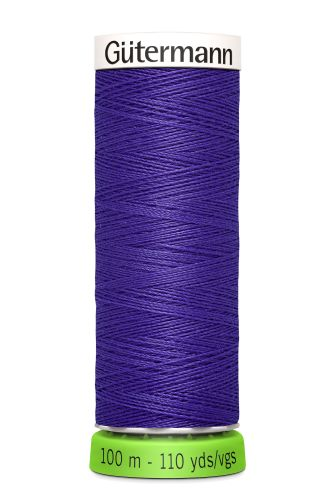 Gutermann Sew All Thread - Purple Recycled Polyester rPET Colour 810