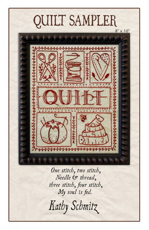 Quilt Sampler Embroidery Kathy Sc