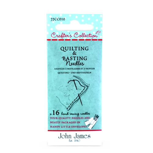 Quilting and Basting needles by John James