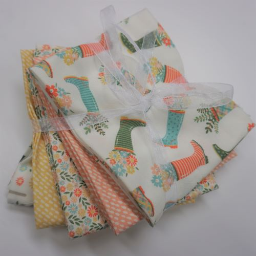 Quilting Fabric Wish For Rain Fat Quarter Bundle by Camelot Fabrics.