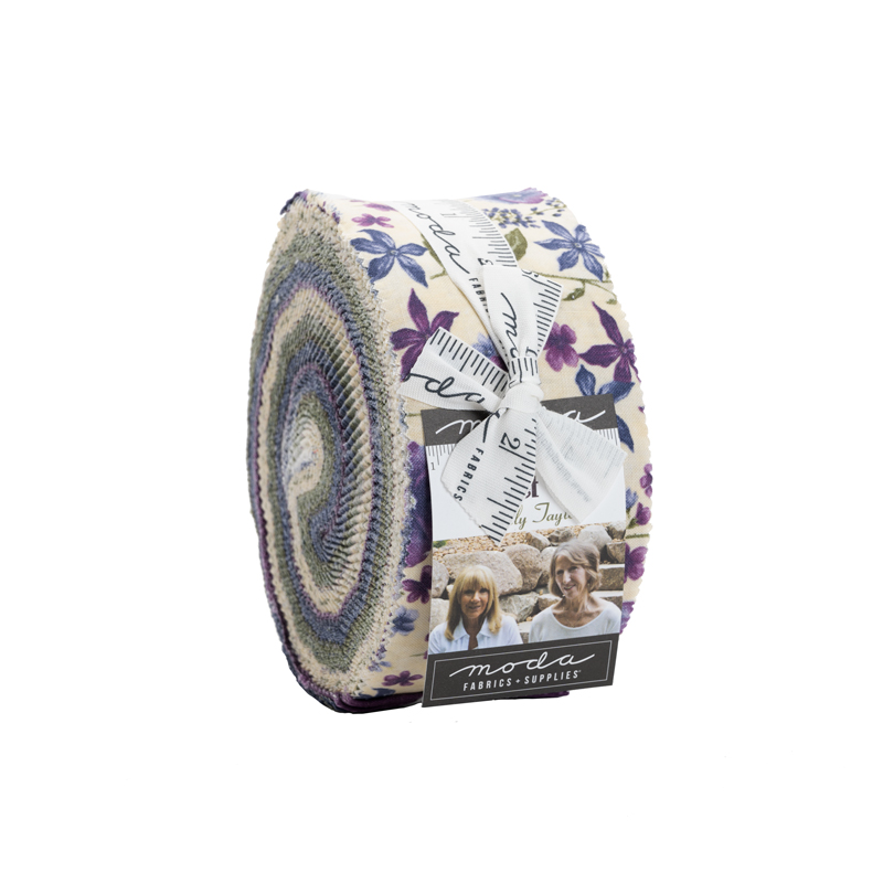 Quilting Fabric Jelly Roll from Violet Hill by Holly Taylor for Moda
