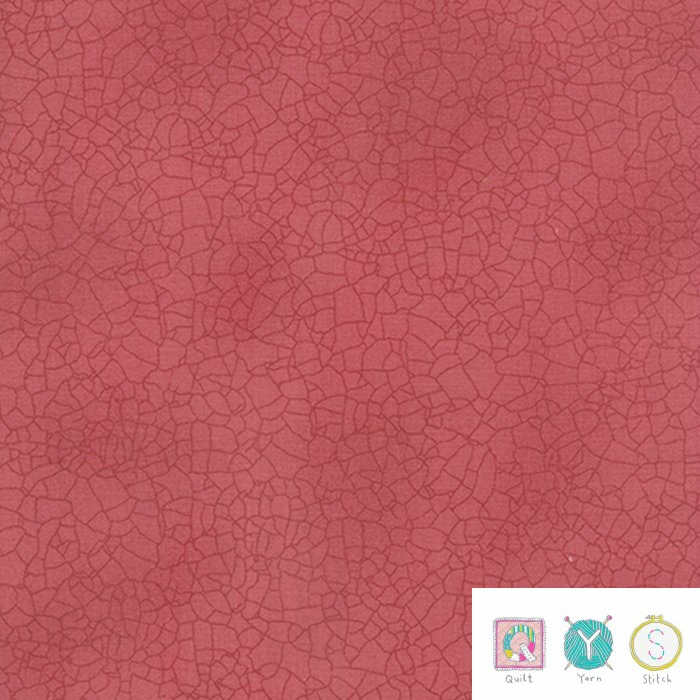 Moda Crackle Blush 5746 122 - Red Blender Fabric - by Kathy Schmitz for Moda Fabrics