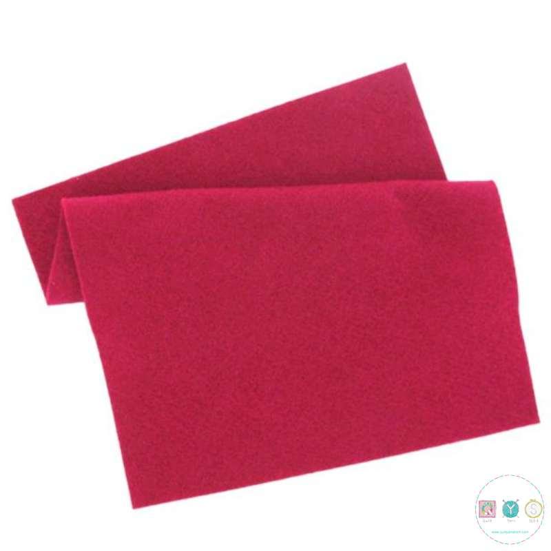 Rose Pink Felt Sheet  - 12