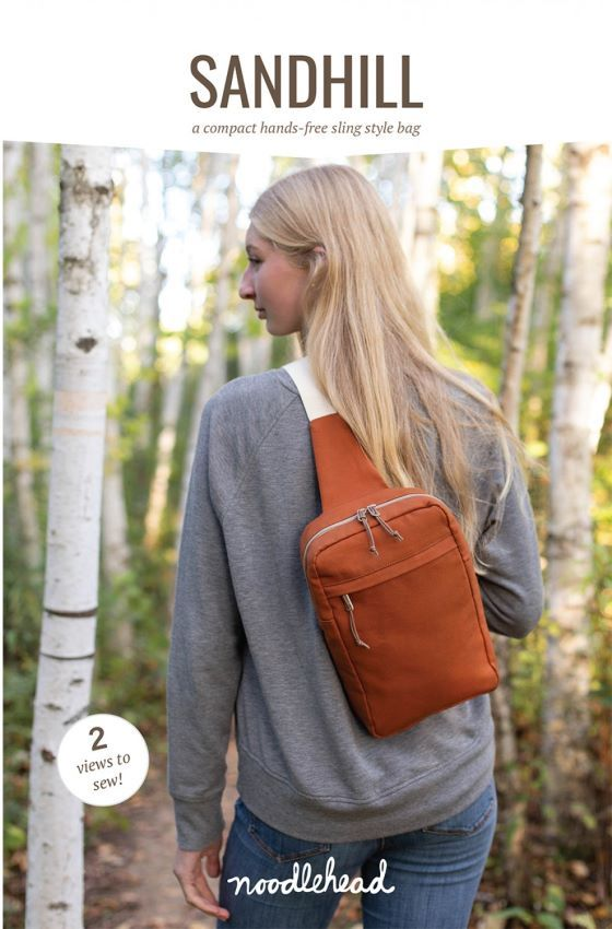 Sandhill Sling Bag Sewing Pattern by Noodlehead