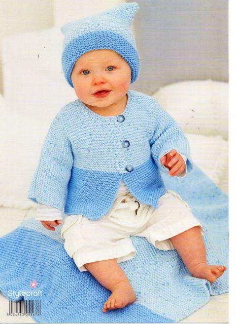 Stylecraft Wondersoft Baby Double Knitting Pattern 9270