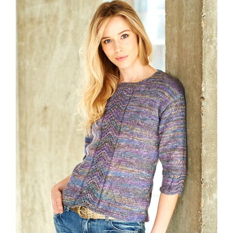 Stylecraft SC9406 - Batik Elements Dk Ladies Sweater - Knitting Pattern