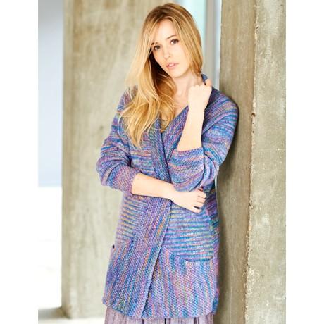 Batik Elements Dk Wool SC9408 - Ladies Cardigan - Knitting Pattern by Stylecraft
