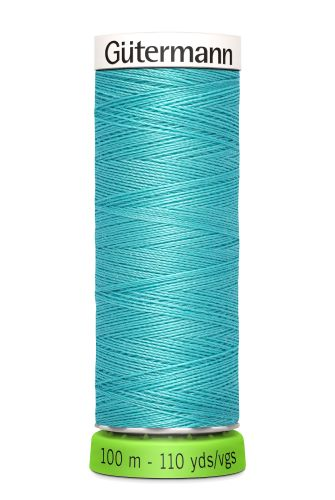 Gutermann Sew All Thread - Sea Green Recycled Polyester rPET Colour 192