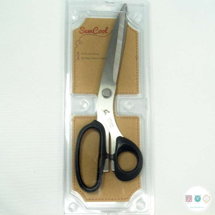 Sew Cool - Multi-use Large Scissors - Stainless Refined Steel Shears - Sewing Accessory - Tools
