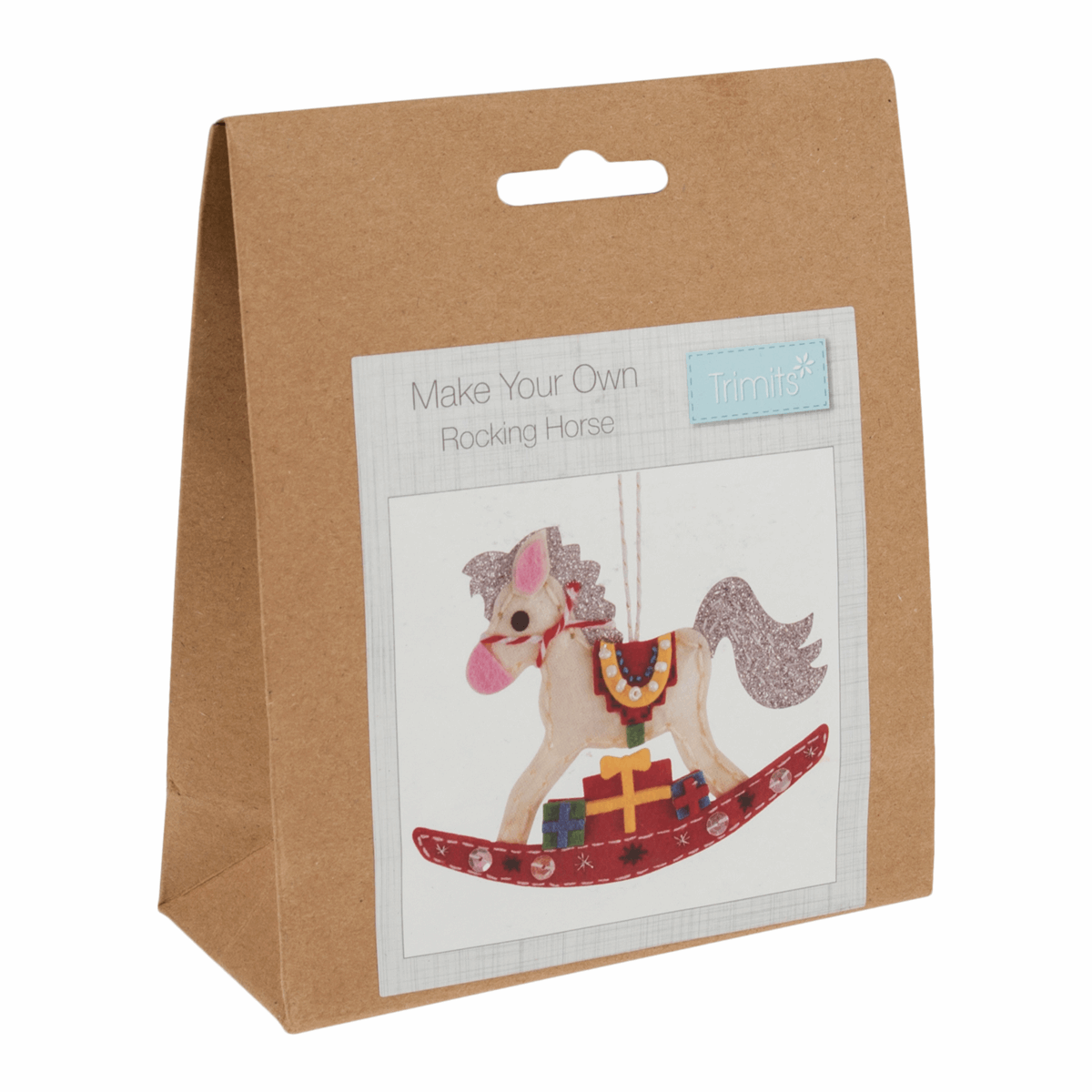 Gift Idea - Make Your Own Rocking Horse Decoration Kit by Trimits