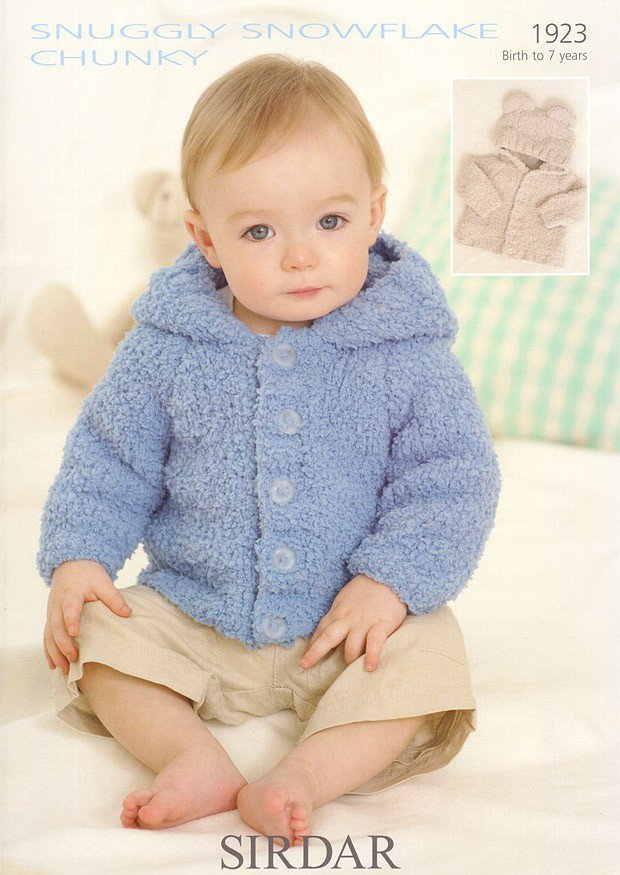 Jacket in Sirdar Snuggly Snowflake Chunky - 1923
