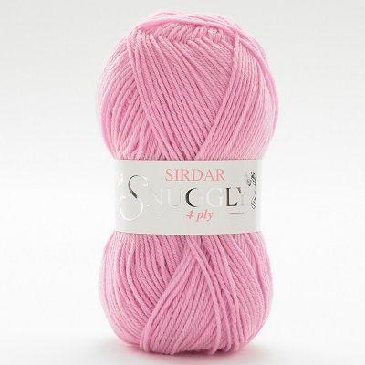Sirdar Snuggly 4 Ply Wool - Tutu (191) - Pink - 50g - Yarn - Knitting & Crochet