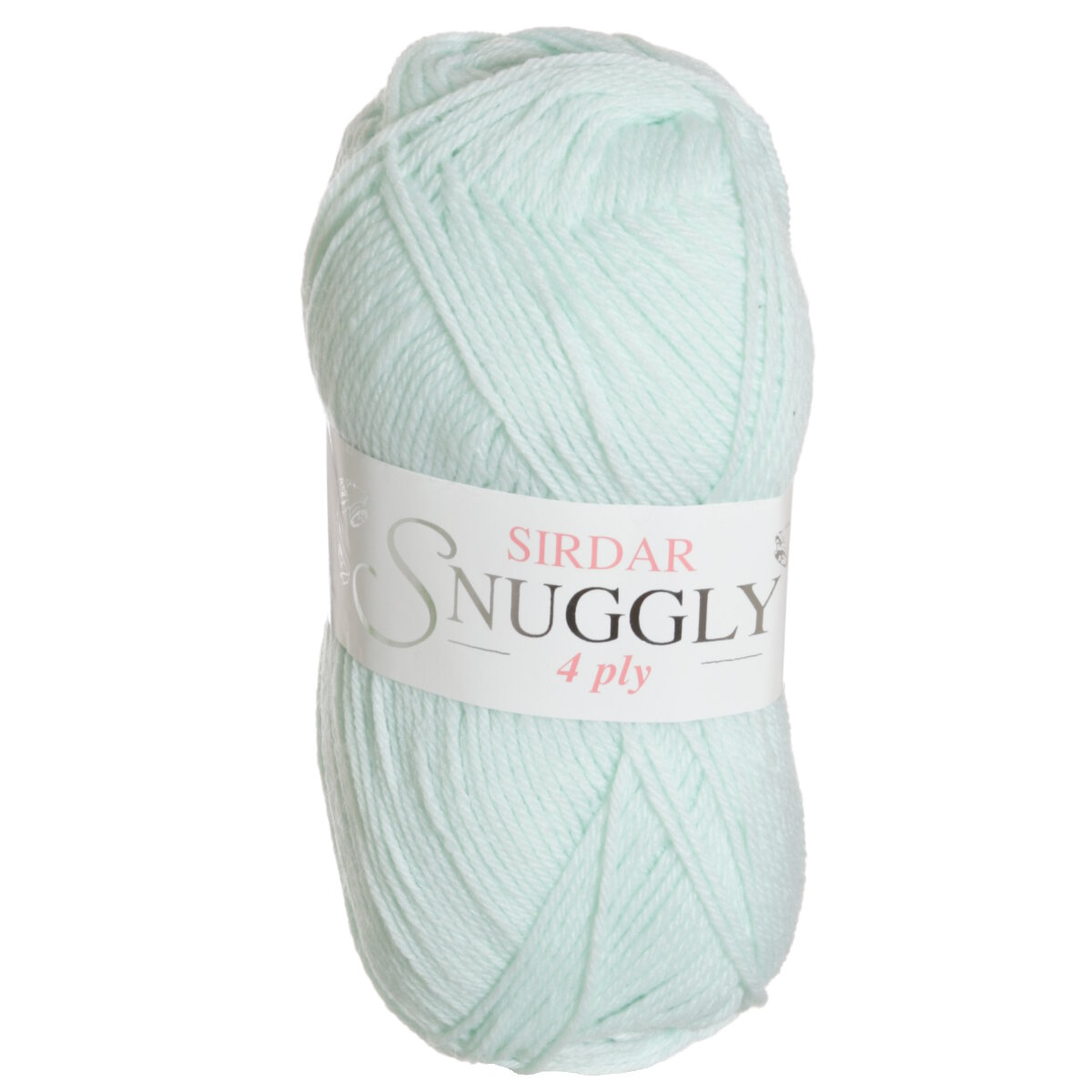 Sirdar Snuggly 4 Ply Wool - Pearly Green (304) - 50g - Yarn - Knitting & Crochet