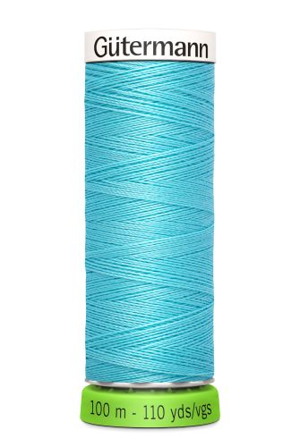 Gutermann Sew All Thread - Sky Blue Recycled Polyester rPET Colour 28