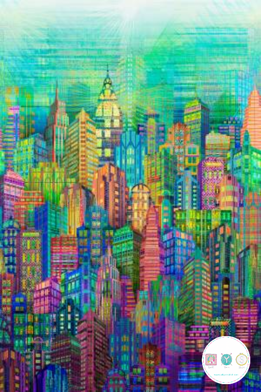 Skyline Digital Print - 104
