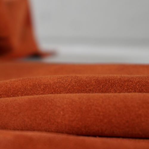 Suede - 1.6mm - Rust Brandy Colour 349