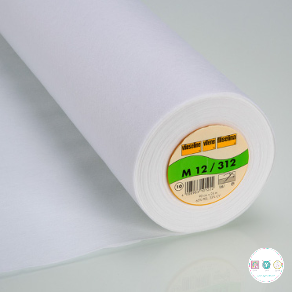 Vl312 White - Vilene Medium Weight - Sew-In - Interfacing - Vlieseline - Dressmaking