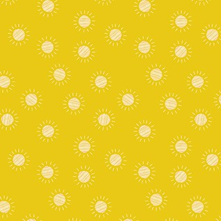 Quilting Fabric - Suns from Prickly Pear by Figo Fabrics