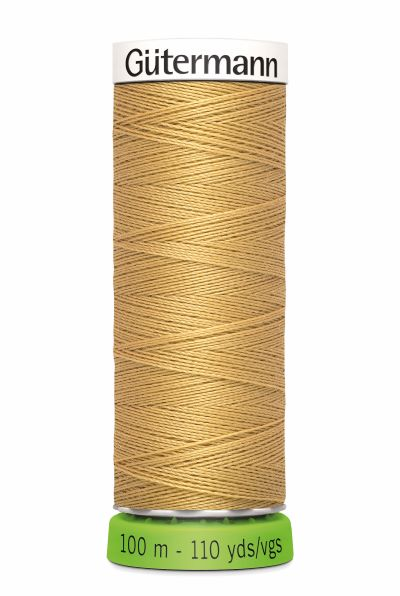 Gutermann Sew All Thread - Tan Recycled Polyester rPET Colour 893