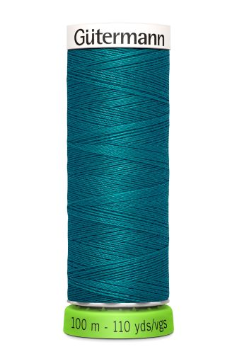Gutermann Sew All Thread - Teal Recycled Polyester rPET Colour 189