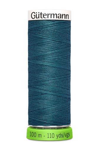 Gutermann Sew All Thread - Teal Recycled Polyester rPET Colour 223