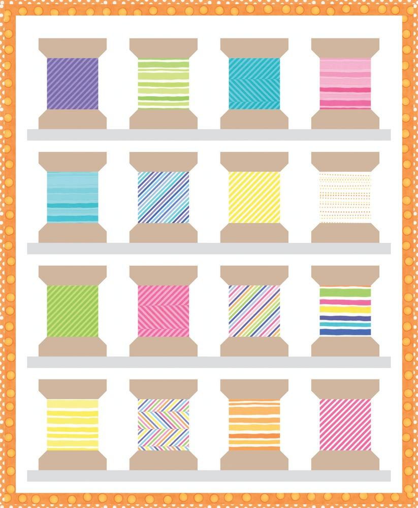 Moda Buttons Amp Thread Pattern The Quilt Shop