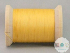 YLI Hand Quilting Glazed Cotton Thread - Gold 211-04-007 - Yellow Gold Waxed Thread