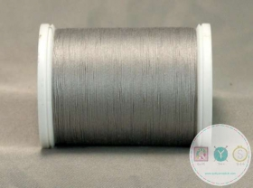YLI Hand Quilting Glazed Cotton Thread - Grey 211-04-011 - Waxed