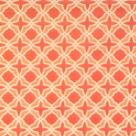 Moda Best Day Ever Orange Geometric