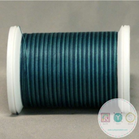 YLI Machine Quilting Cotton Thread - Teals 244-50-07V - Variegated Teal Blue Thread