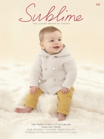 Sublime Twenty First Handknit - Childrens Pattern Book
