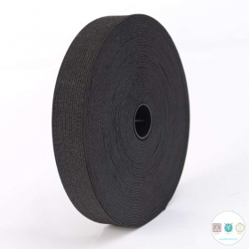1 inch - 25mm - Black Elastic - Crafts - Dressmaking - Haberdashery