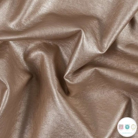 Faux Leather Rose Gold - Soft Skin Faux Leather - Pink PU Leather - Leatherette - Pleather - Cosplay Fabric - Dressmaking Textiles