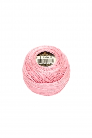 Pink Perle 8 Embroidery Thread DMC8-3326